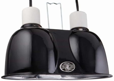 ZooMed Dual Mini Dome Light Fixture